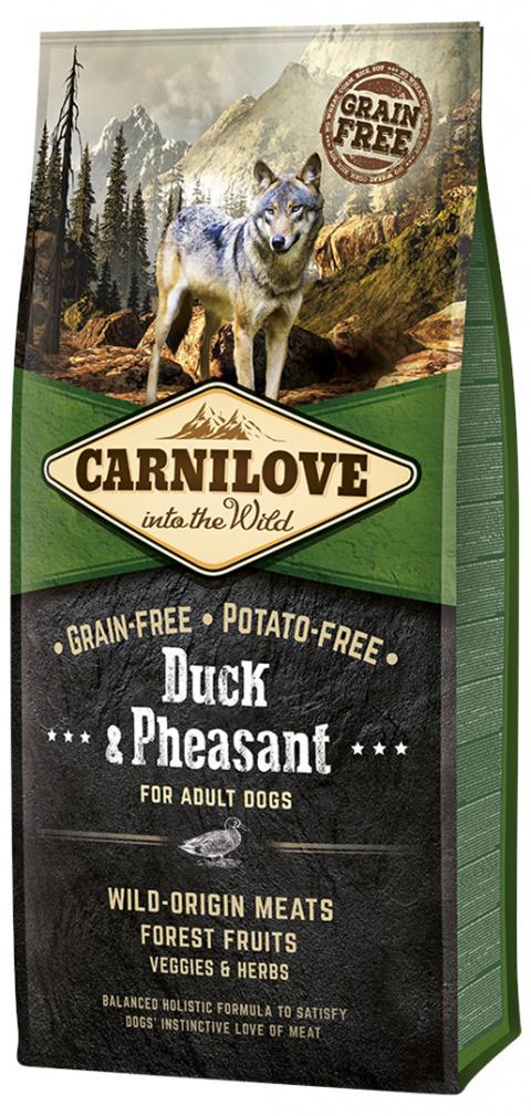Barība suņiem - CARNILOVE Duck & Pheasant for Adult, 12kg