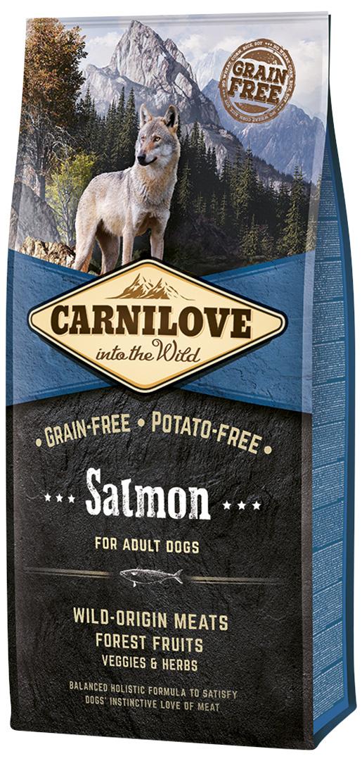 Barība suņiem - CARNILOVE Salmon for Adult, 12 kg