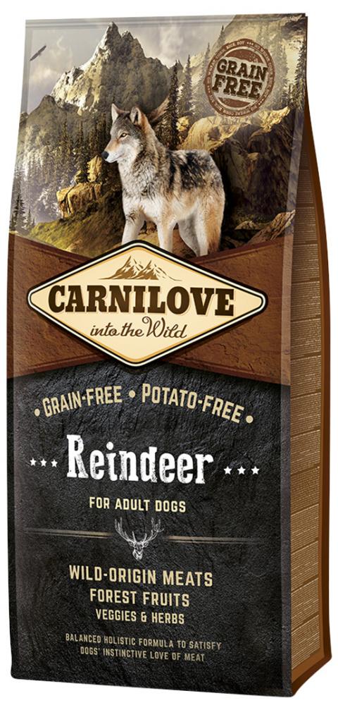 Корм для собак - CARNILOVE Reindeer for Adult, 12 кг