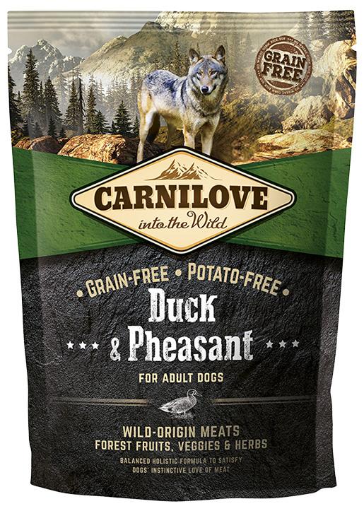 Barība suņiem - CARNILOVE Duck & Pheasant for Adult, 1.5 kg