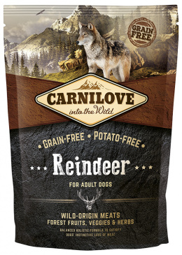 Корм для собак - CARNILOVE Reindeer for Adult, 1.5кг