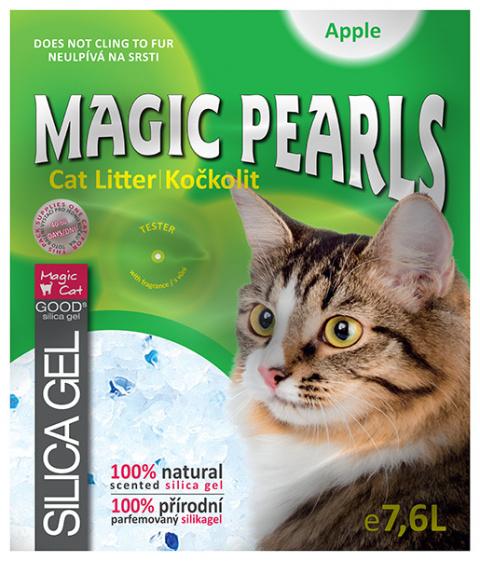Pakaiši kaķu tualetei - Magic Pearl Apple 7.6 L title=
