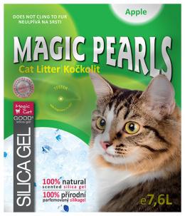Pakaiši kaķu tualetei - Magic Pearl Apple 7.6 L