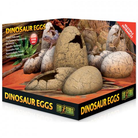 Декор для террариума - ExoTerra Dinosaur Eggs, 16*16cm title=