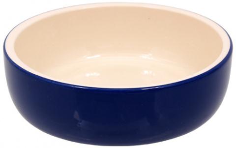 Bļoda kaķiem - MAGIC CAT, Ceramic Bowl, blue, 14.5 cm