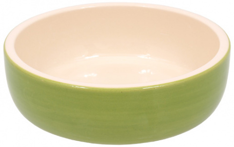 Bļoda kaķiem - MAGIC CAT, Ceramic Bowl, green, 14.5 cm