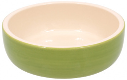 Bļoda kaķiem - MAGIC CAT, Ceramic Bowl, green, 14.5 cm