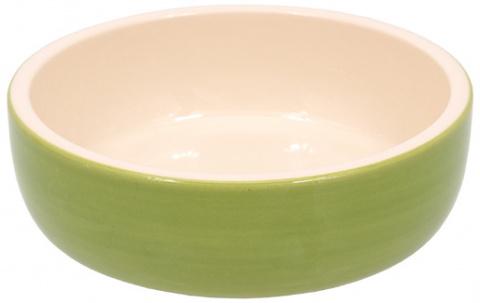 Миска для кошек – MAGIC CAT, Ceramic Bowl, Green, 14,5 см title=