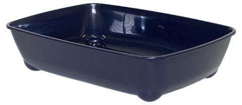 Туалет для кошек - Magic Cat Economy, синий, 42*31*13 cm title=