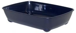 Туалет для кошек - Magic Cat Economy, синий, 42*31*13 cm