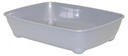 Туалет для кошек - Magic Cat Economy, серый, 42*31*13 cm