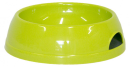 Bļoda suņiem - DogFantasy, plastmasa, zaļa, 470 ml