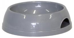 Миска для собак - DogFantasy, пластик, серый, 470 ml