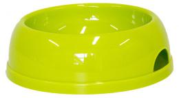 Bļoda suņiem - DogFantasy, plastmasa, zaļa, 770 ml
