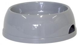 Bļoda suņiem - DogFantasy, plastmasa, pelēka, 1450 ml