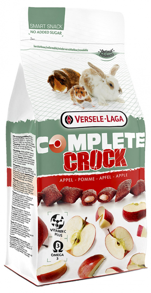 Лакомство для грызунов - Versele-Laga Crock Complete Apple, 50 г