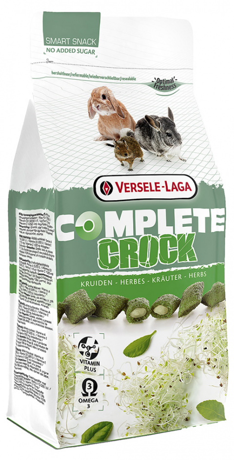 Лакомство для грызунов – Versele-Laga Crock Complete Herbs, 50 г title=