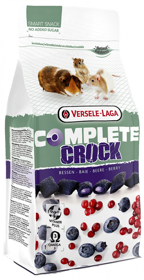 Gardums grauzējiem – Versele-Laga Crock Complete Berry, 50 g title=