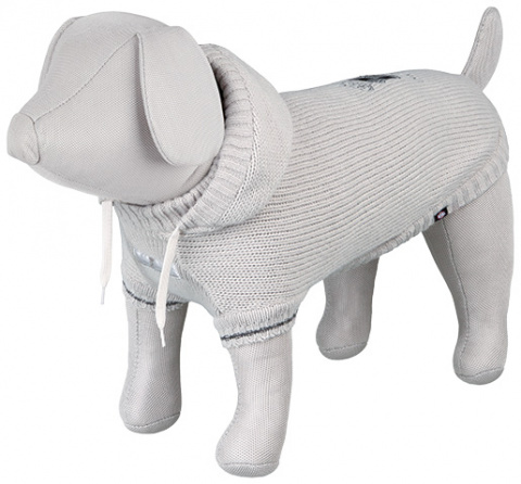 Džemperis suņiem - Dog Prince Pullover, XS, 27cm, pelēka title=