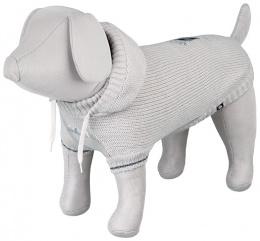 Džemperis suņiem - Dog Prince Pullover, XS, 27cm, pelēka