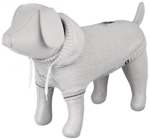Джемпер для собак - Dog Prince Pullover, S, 36cm, серый title=