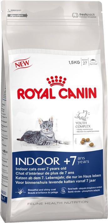 Barība kaķiem - Royal Canin Feline Indoor +7, 1,5 kg