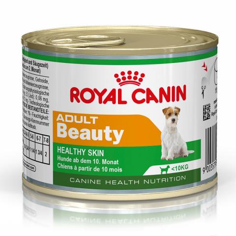 Konservi suņiem - Royal Canin Mini adult beauty, 195 g