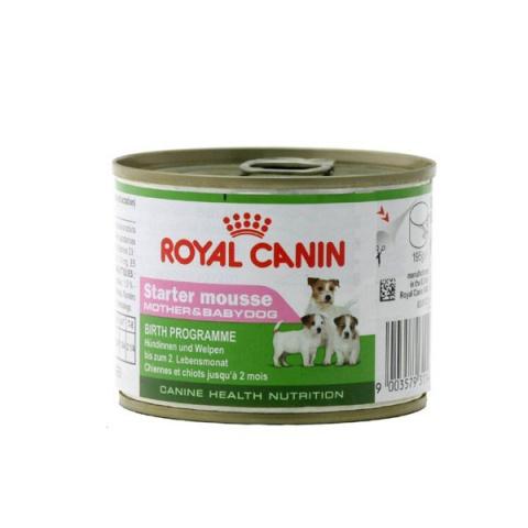 Консервы для щенков - Royal Canin CHN Starter Mousse, 195 г title=