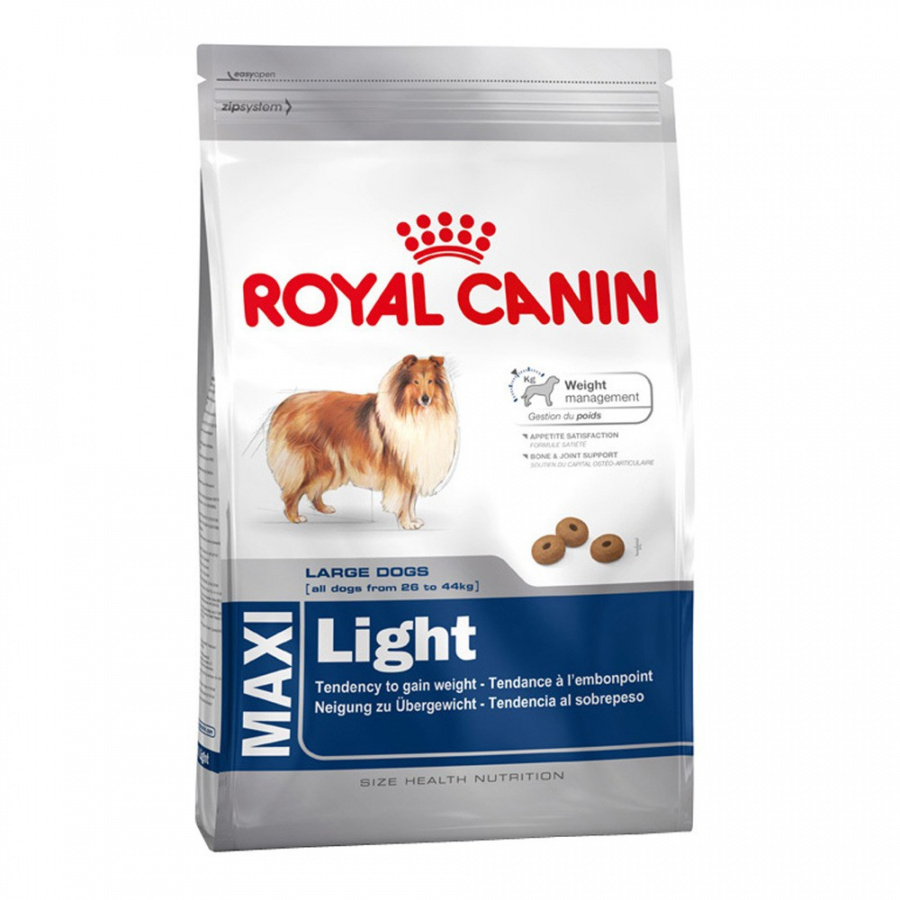 Barība suņiem - Royal Canin Maxi Light, 15 kg