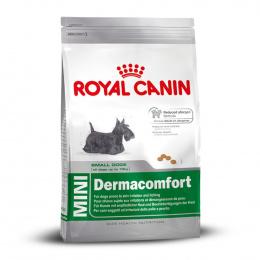 Barība alerģiskiem suņiem - Royal Canin Mini Dermacomfort, 10 kg