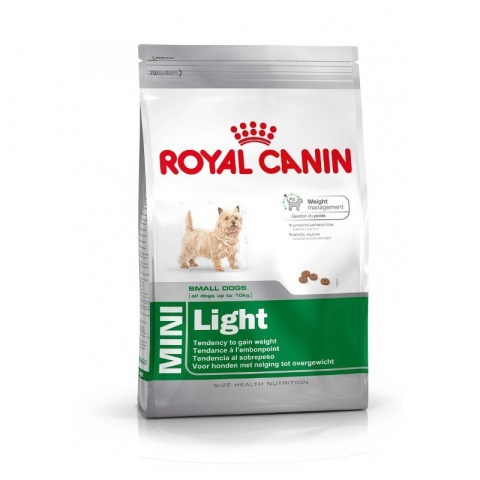 Diētiskā barība suņiem - Royal Canin Mini light, 0.8 kg title=