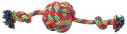 Игрушка для собак - Dog Fantasy Good's Cotton Ball with 2 knots, 38 cm