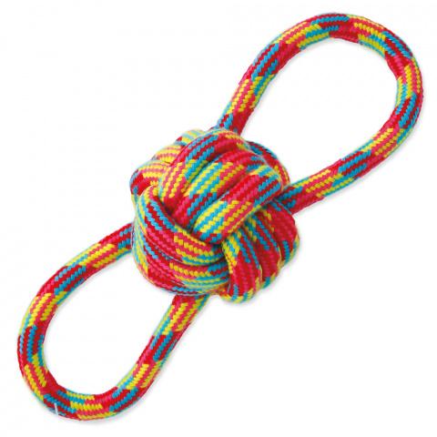 Игрушка для собак - DogFantasy Good's, игрушка из ткани, мяч, 22 cm title=