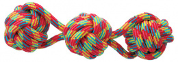 Игрушка для собак - DogFantasy Good's, игрушка из ткани, 3 мяча, 37 cm