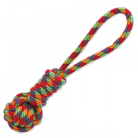 Игрушка для собак - Dog Fantasy Good's Cotton Throwing Ball, 34 cm title=
