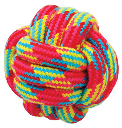 Rotaļlieta suņiem – Dog Fantasy Good's Cotton Ball, 7 cm title=