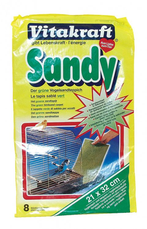 Аксессуар для птиц - Sandy 21*32, 8 шт