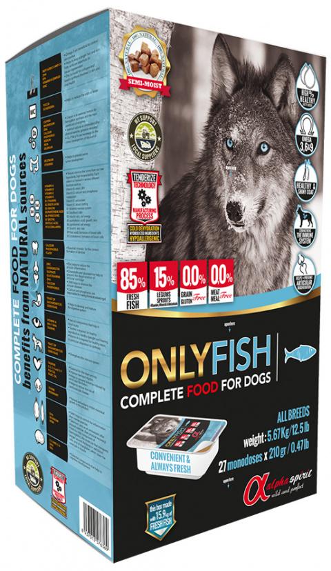 Корм для собак - ALPHA Spirit Only Fish 5,6 kg