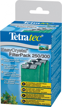 Filtra pildījums - Tetra Crystal Filter Pack C 6C 250/300 (3gb)