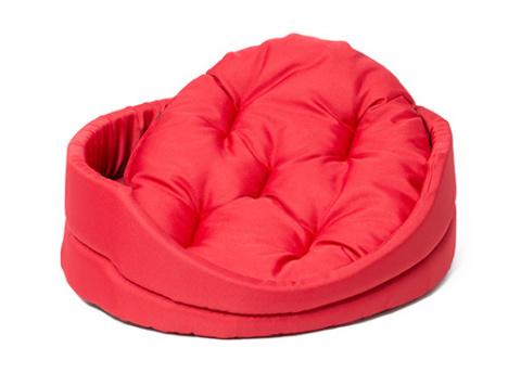 Guļvieta suņiem - Dog Fantasy DeLuxe oval bed, 83*73*20 cm title=