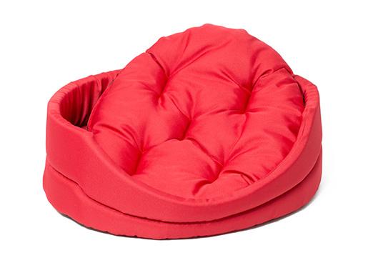 Лежанка для собак - Dog Fantasy DeLuxe oval bed, 83*73*20 cm