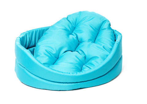 Guļvieta suņiem - Dog Fantasy DeLuxe oval bed, 83*73*20 cm title=