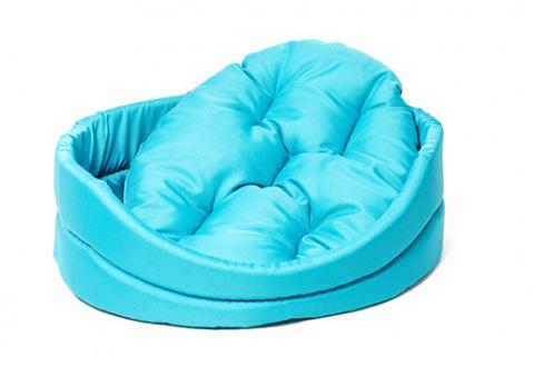 Лежанка для собак - Dog Fantasy DeLuxe oval bed, 91*81*21 cm title=