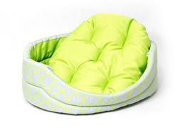 Лежанка для собак - Dog Fantasy DeLuxe oval, 60*52*17 cm
