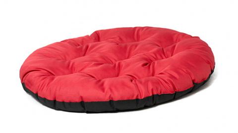 Guļvieta suņiem - DogFantasy DeLuxe basic cushion, 86 x 70 cm, red title=