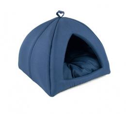 Mājiņa dzīvniekiem – Dog Fantasy Basic, 43 x 43 x 35 cm, dark blue