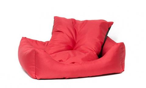 Лежанка для собак - Dog Fantasy DeLuxe Basic Sofa, 53*43*16 cm title=