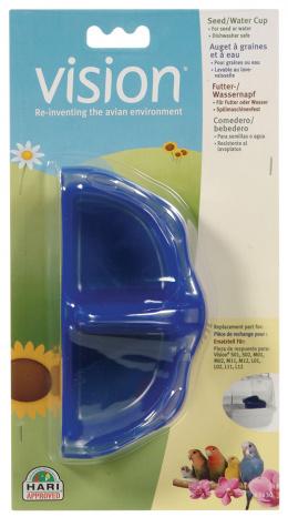Aksesuārs putnu būrim - Feeder for Vision (zila)