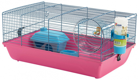 Клетка для грызунов - Martha, 46,5 x 29,5 x 21 см title=