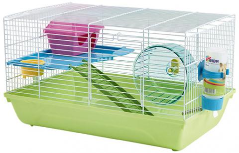 Клетка для грызунов - SAVIC Martha Double, 46,5 x 29,5 x 26,5 см title=